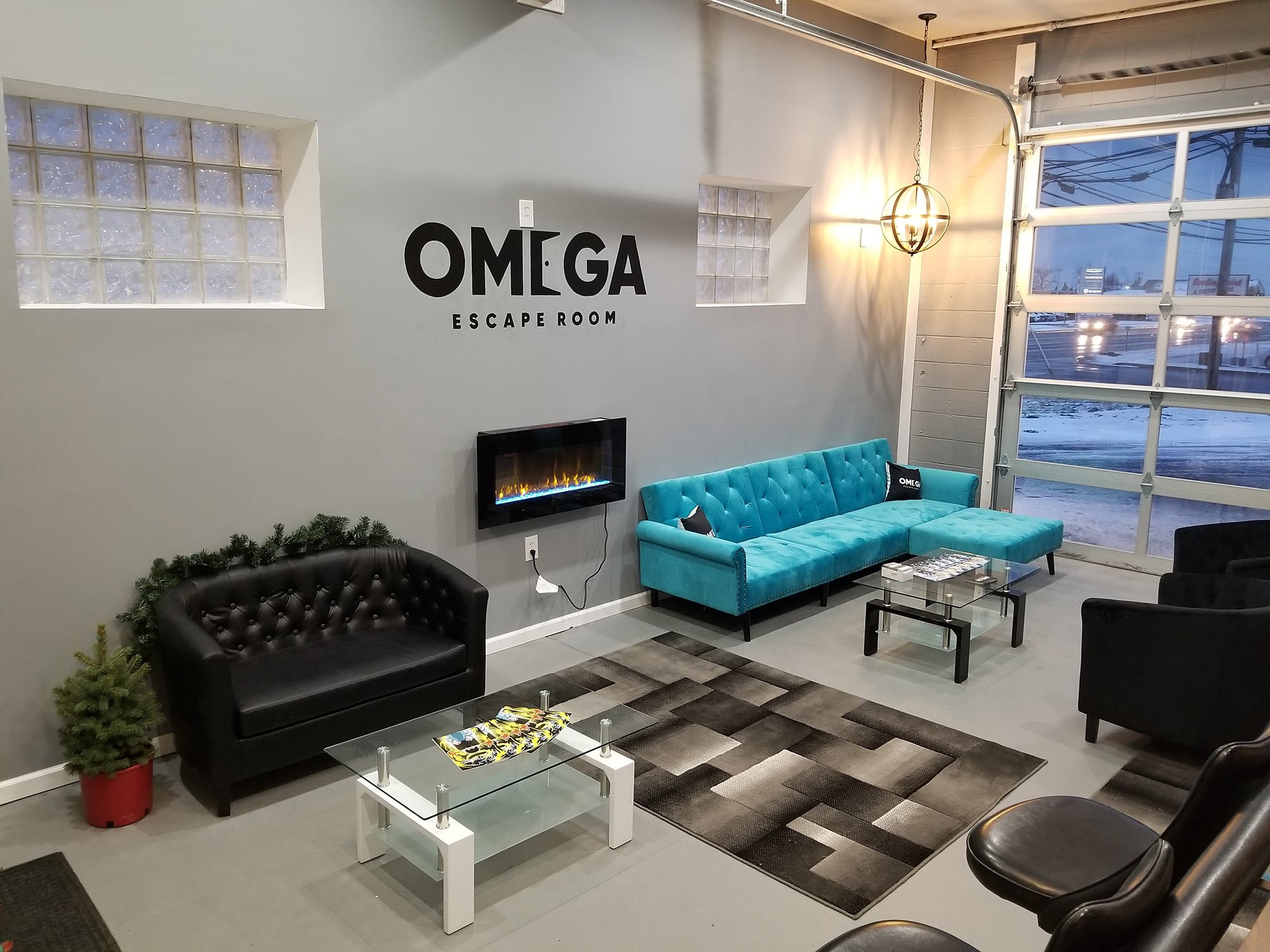Omega Escape Room Hamburg Lobby