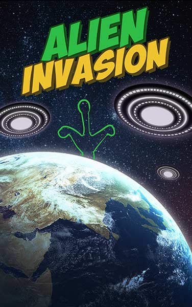 Alien Invasion Escape Room Logo